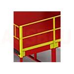 12. Des Balustrade sur les 2 côtés L (OPT-HRL). Pour une plus grande sécurité des piétons travaillant sur la plate-forme. La hauteur est de 1000 mm.