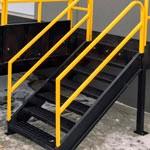 8. L'échelle d'accès à la plate-forme (OPT-LD).