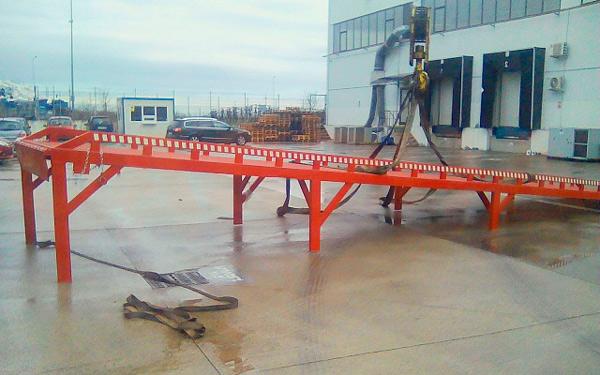 La rampe quai stationnaire AUSBAU